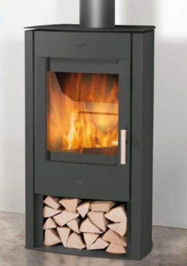 eek a kaminofen fireplace tuvalu stahl schwarz 6 kw. Black Bedroom Furniture Sets. Home Design Ideas