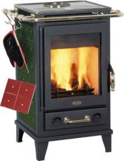 kaminofen fireplace florenz keramik gr n. Black Bedroom Furniture Sets. Home Design Ideas