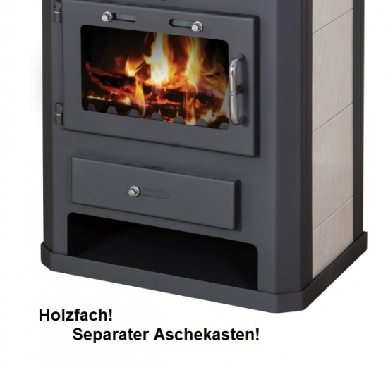 eek a kaminofen mit backfach herdplatte victoria comfort kf kachel 10kw. Black Bedroom Furniture Sets. Home Design Ideas